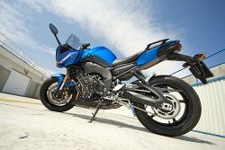 tyl motocykla yamaha fz8 fazer 2010 test motocykla 05