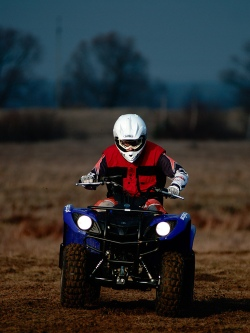 yamaha grizzly na wprost