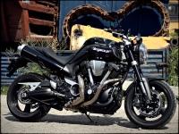 yamaha mt-01 muscle bike