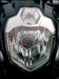 yamaha mt-03 lampa przod