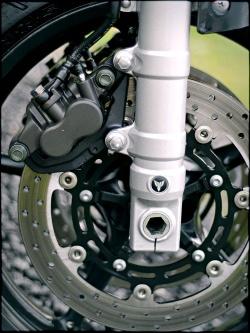 yamaha mt-03 przedni hamulec