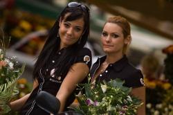 dziewczyny kwiaty modelki