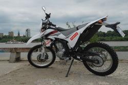 Yamaha WR250R nad Wisla