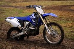 Yamaha YZ 450 F bok