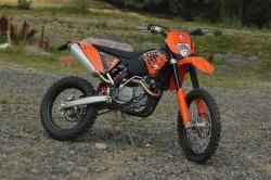 ktm exc-r 2008 profil