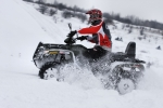 Arctic Cat 700 TRV H1 EFI test zimowy