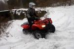 jazda snieg trx420 rancher fourtrax honda test a mg 0155