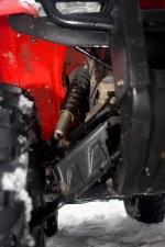 przednie zawieszenie trx420 rancher fourtrax honda test a mg 0126