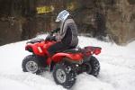 wyjazd na snieg trx420 rancher fourtrax honda test a mg 0100