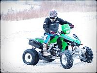 Kawasaki KFX450R baczki