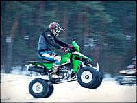 Kawasaki KFX450R hopsa
