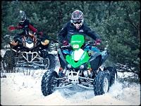 Kawasaki KFX450R slalom