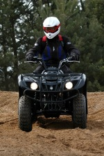 quad yamaha big bear postoj