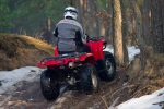 wyjazd w las grizzly 350 yamaha test a mg 0125