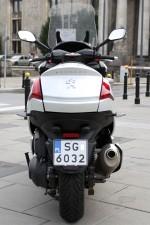 Peugeot Metropolis 400i 2014 tyl