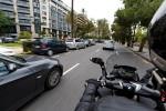 2016 BMW C 650 GT w ruchu miejskim