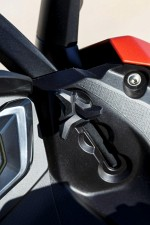 2016 BMW C 650 Sport regulacja szyby