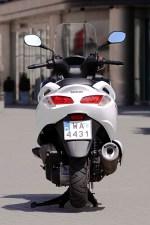 Suzuki Burgman 125 ABS od tylu