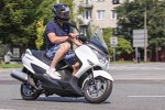 Suzuki Burgman 125 MY 2014 Warszawa