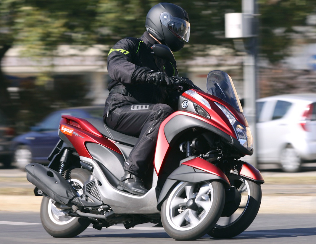 Tri City Auto >> Yamaha Tricity - trzecie koło u wozu
