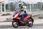 dynamicznie Honda PCX Scigacz pl