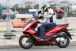 po ulicy Honda PCX Scigacz pl