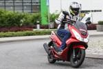 w ruchu Honda PCX Scigacz pl