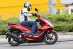 w zakrecie Honda PCX Scigacz pl