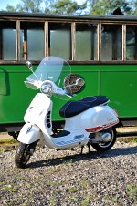 vespa gts 300 super dirt