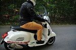 vespa gts 300 super driver rear