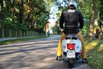 vespa gts 300 super rear driver