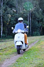 vespa gts 300 super sciezka
