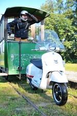 vespa gts 300 super tramwaj