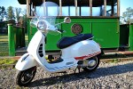 vespa gts 300 super white tour