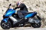 BMW C600 Sport 2012 niebieski