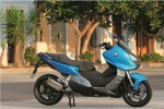 Maksiskuter BMW C600 Sport 2012 na ulicy