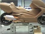 Model z gliny Maksiskuter BMW C650 GT 2012  2
