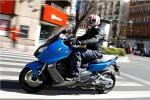 W miescie BMW C600 Sport 2012