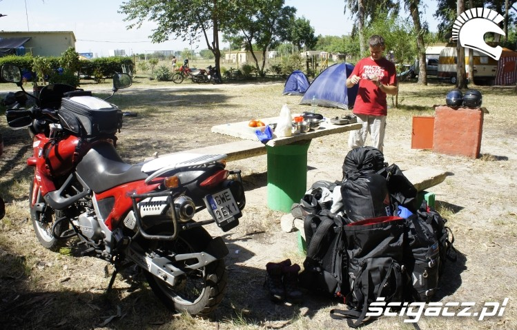 camping wyprawa motocyklowa do Ameryki Poludniowej