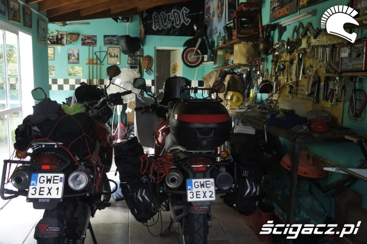 garaz wyprawa motocyklowa do Ameryki Poludniowej
