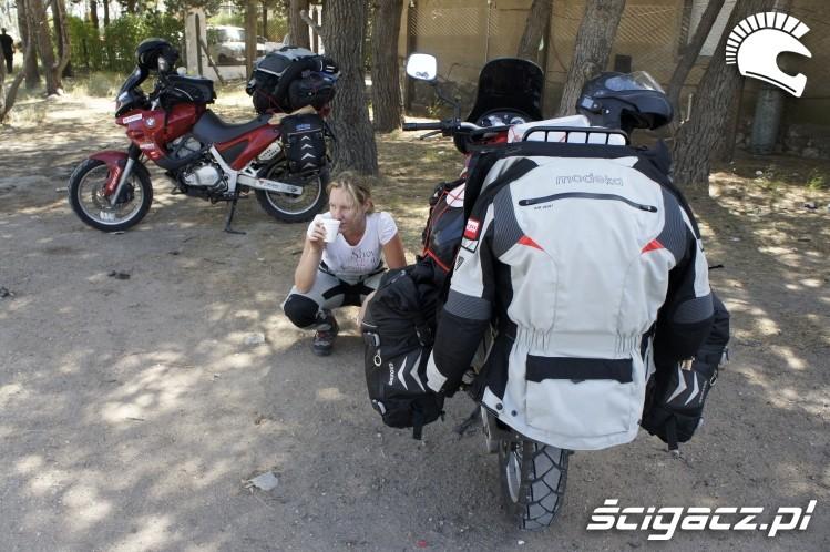 odpoczynek wyprawa motocyklowa do Ameryki Poludniowej
