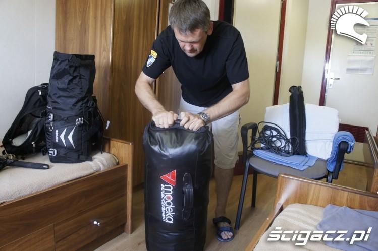 pakowanie wyprawa motocyklowa do Ameryki Poludniowej