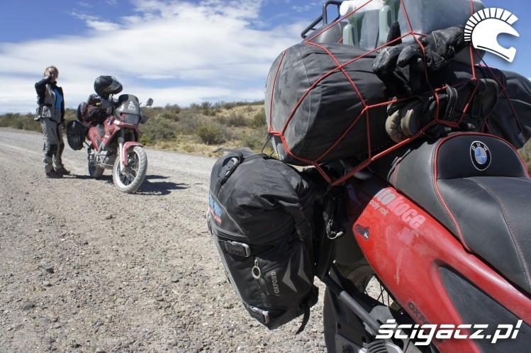 podczas trasy wyprawa motocyklowa do Ameryki Poludniowej