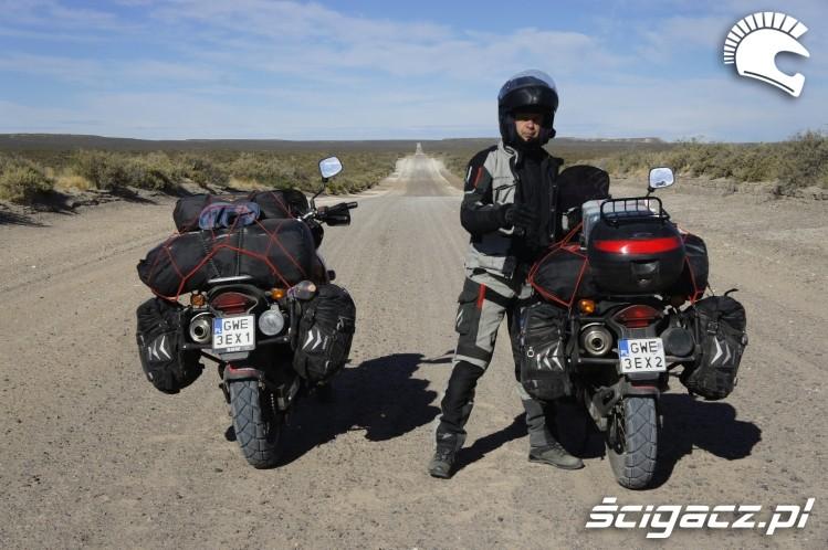 podczas wyprawy wyprawa motocyklowa do Ameryki Poludniowej