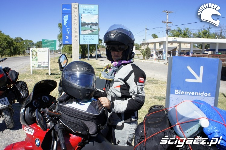stacja wyprawa motocyklowa do Ameryki Poludniowej