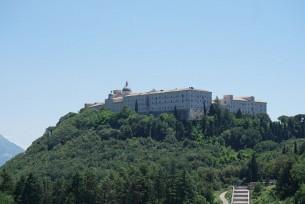 Klasztor Benedyktynow Monte Casino