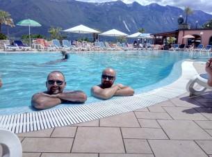 Relax w kempingowym basenie