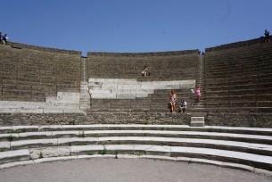 Teatr w starozytnych Pompejach