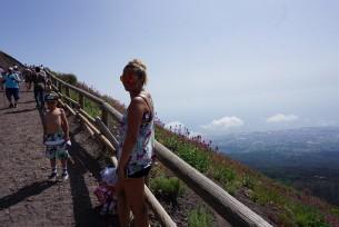 Wspinaczka na Vesuvio