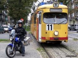 Motocyklem dookola swiata-POL-Szczecin